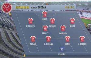 2015 Ligue 1 J18 REIMS NICE 1-1,le live, le 12/12/2015