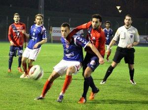 2015 CFA2 J12 HAGUENAU REIMS 1-2,  le 19/12/2015