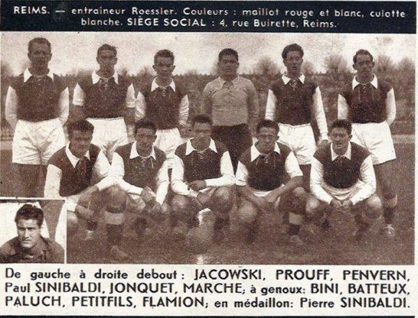 RECAPITULATIF de la saison 1948-1949