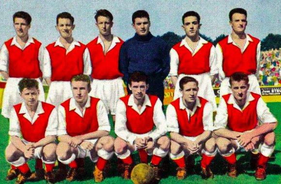 1955 Trophée des Champions REIMS LILLE 7-1, le 14/09/1955