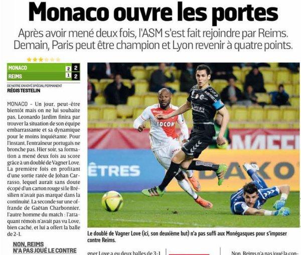 2015 Ligue 1 J30 MONACO REIMS 2-2, le 11/03/2016