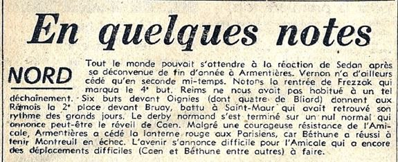 1951 CFA J14 REIMS OIGNIES 6-0, le 06/01/1952