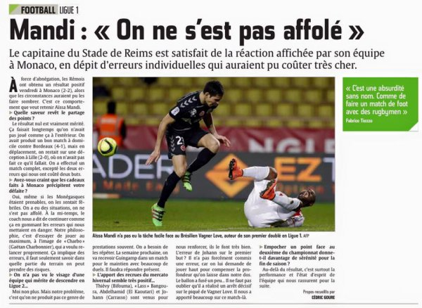 2015 Ligue 1 J30 MONACO REIMS 2-2, les + du blog, le 13/03/2016