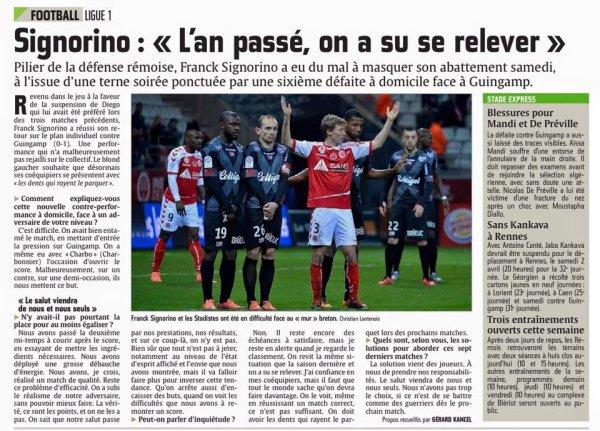 2015 Ligue 1 J31 REIMS GUINGAMP 0-1,les + du Blog, le 22/03/2016