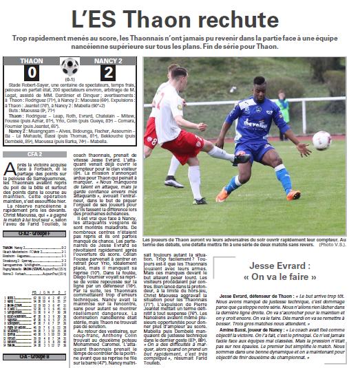 2015 CFA2 J20 REIMS FORBACH, l'avant match, le 10/04/2016