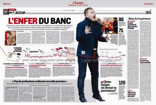 2015 Ligue 1 J34 TROYES REIMS, L'avant match, le 15/04/2016