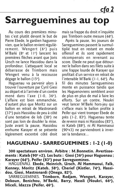 2015 CFA2 J23 RAON L'ETAPE REIMS 2-2, le 07/05/2016