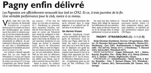 2015 CFA2 J24 REIMS HAGUENAU 1-1, le 14/05/2016