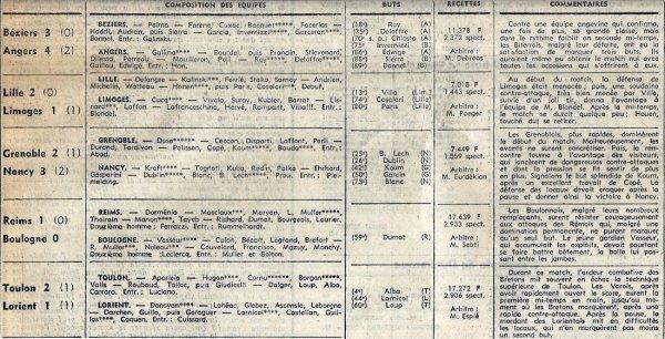 1968 D2 J36 REIMS BOULOGNE 1-0, le 10/05/1969