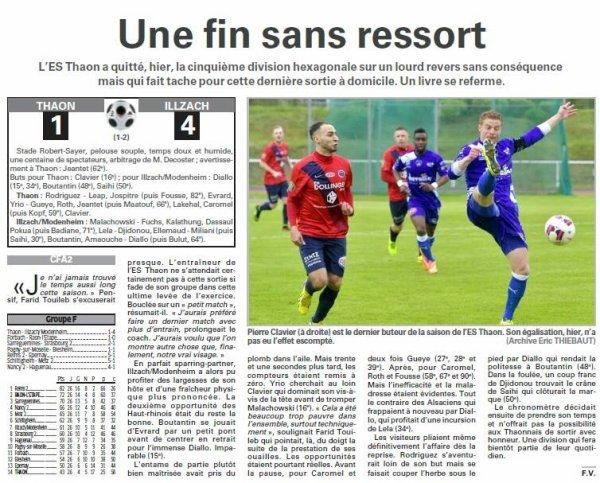 2015 CFA2 J26 REIMS EPERNAY 5-1, le 04/06/2016