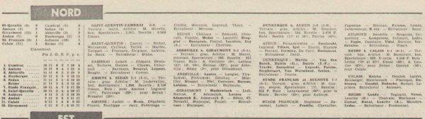 1965 CFA J11 CALAIS REIMS 1-4, le 21/11/1965