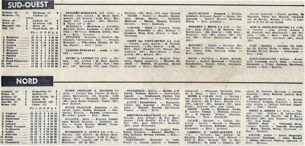 1965 CFA J22 REIMS CALAIS 3-1, le 24/04/1966