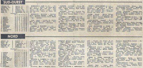 1965 CFA J21 REIMS AMIENS 5-1, le 17/04/1966