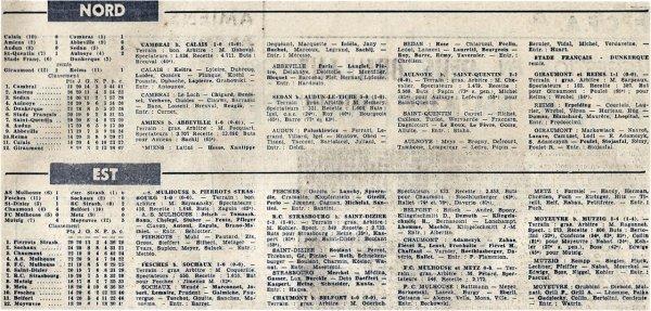 1965 CFA J20 GIRAUMONT REIMS 1-1, le 27/03/1966