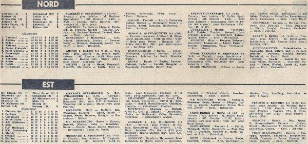 1965 CFA J18 AUDUN REIMS 1-0, le 20/02/1966