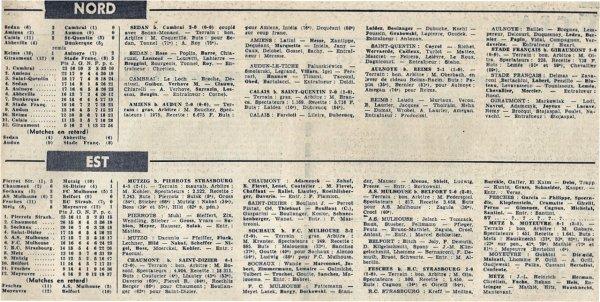 1965 CFA J17 REIMS AULNOYE 1-2, le 06/02/1966