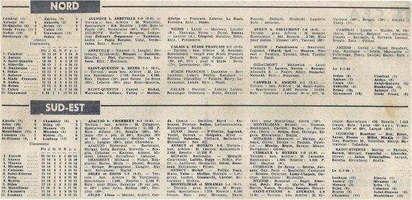 1965 CFA J16 SAINT QUENTIN REIMS 2-1, le 30/01/1966