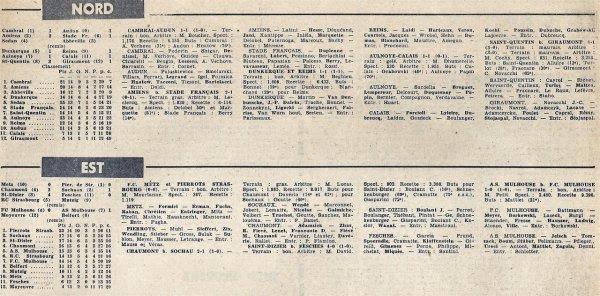 1965 CFA J14 DUNKERQUE REIMS 1-1, le 09/01/1966