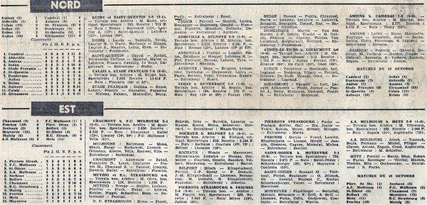 1965 CFA J05 REIMS SAINT-QUENTIN 2-2, le 03/10/1965