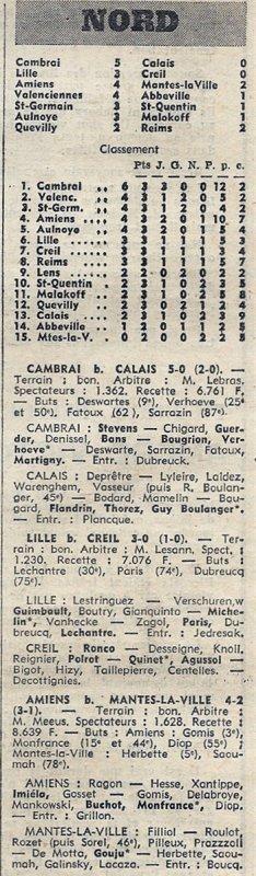 1969 CFA J03 , QUEVILLY REIMS 2-2, le 14/09/1969