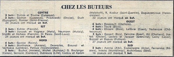 1969 CFA J03 , QUEVILLY REIMS 2-2, le 14/09/1969