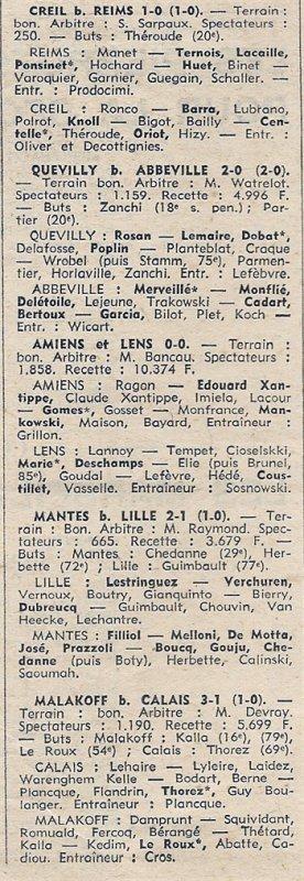 1969 CFA J27 REIMS CREIL 1-0, le 19/04/1970