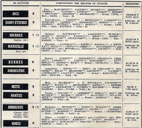 1970 D1 J29 REIMS NANCY 2-1, le 18/04/1971