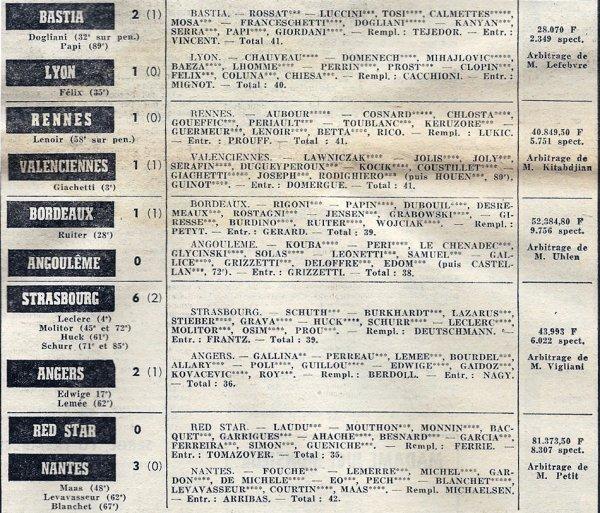 1970 D1 J35 REIMS SOCHAUX 4-1, le 05/06/1971