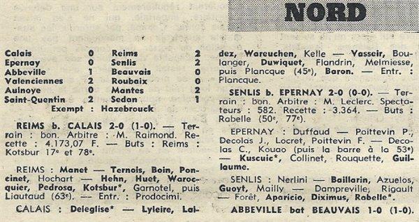 1970 D3 J01 REIMS CALAIS 2-0, le 06/09/1970