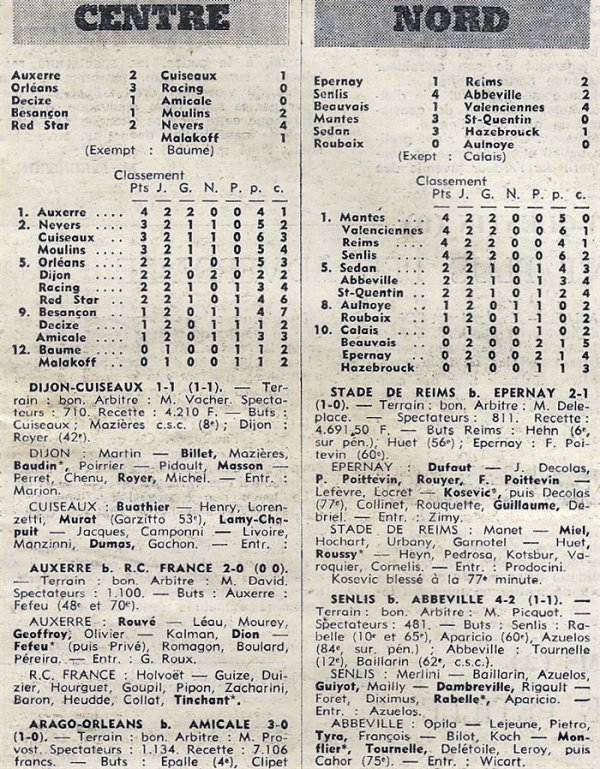 1970 D3 J02 EPERNAY REIMS 1-2, le 13/09/1970