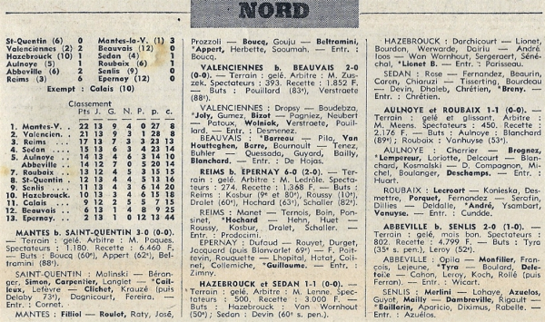 1970 D3 J14 REIMS EPERNAY 6-0, le 27/12/1970