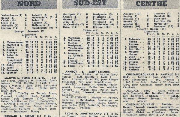1970 D3 J21 REIMS MANTES la VILLE 2-4, le 21/02/1971