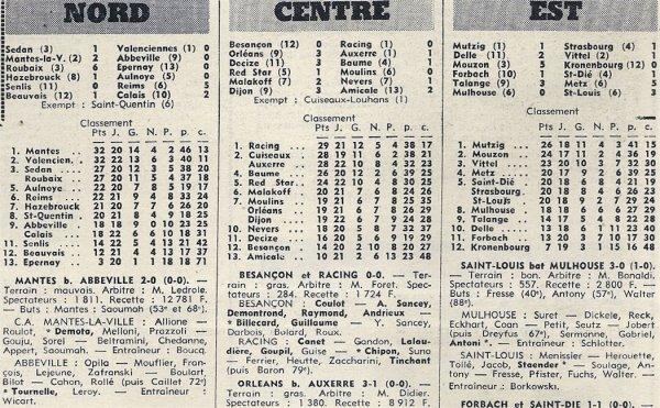 1970 D3 J24 SENLIS REIMS 0-5, le 21/03/1971