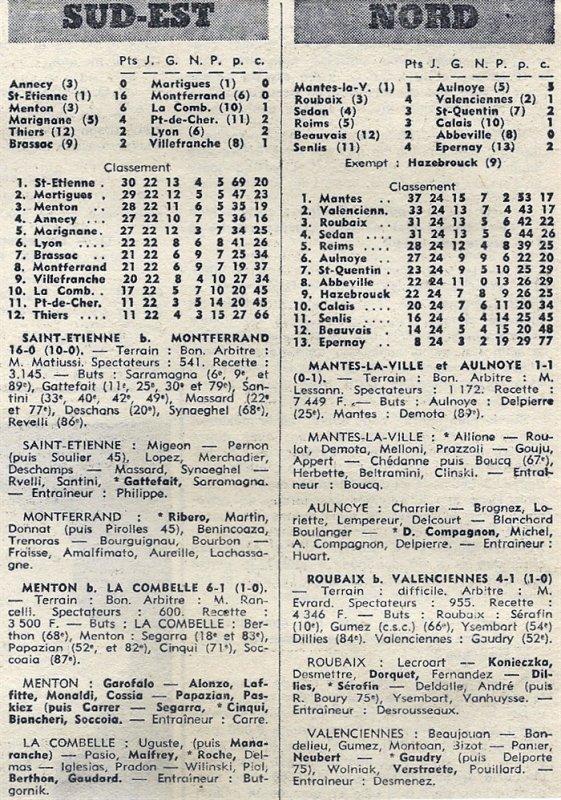 1970 D3 J26 REIMS CALAIS 3-1, le 02/05/1971