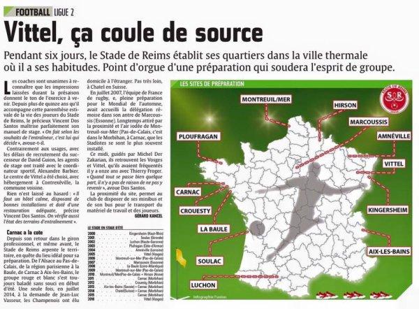 2016 REIMS : VITTEL , un STAGE bien ROUTINIER , le 04/07/2016