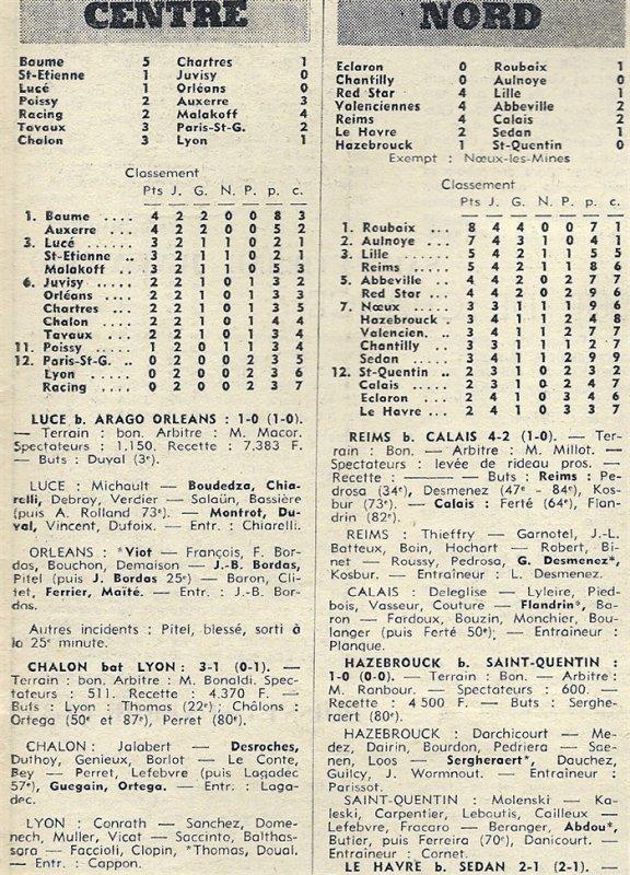 1971 D3 J04 REIMS CALAIS 4-2, le 12/09/1971