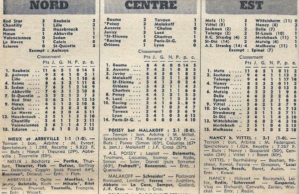 1971 D3 J06 REIMS HAZEBROUCK 2-1, le 26/09/1971
