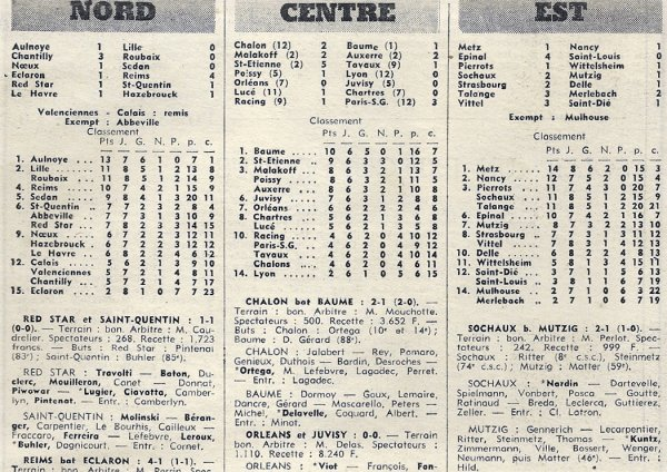1971 D3 J08 ECLARON REIMS 1-4, le 10/10/1971