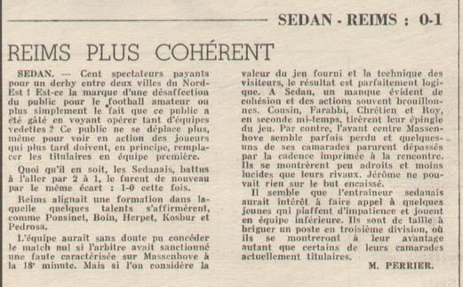 1971 D3 J16 SEDAN REIMS 0-1, le 19/12/1971