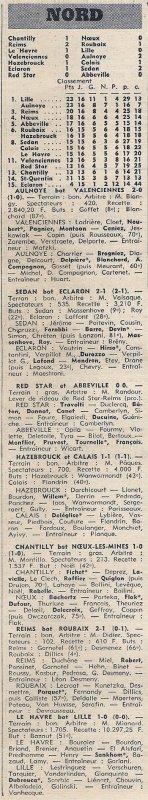 1971 D3 J17 REIMS ROUBAIX 2-1, le 09/01/1972