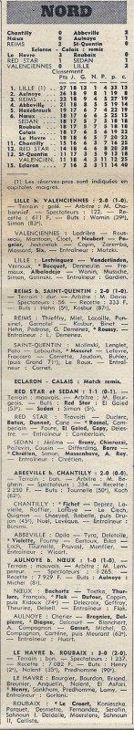 1971 D3 J19 REIMS SAINT-QUENTIN 2-0, le 30/01/1972