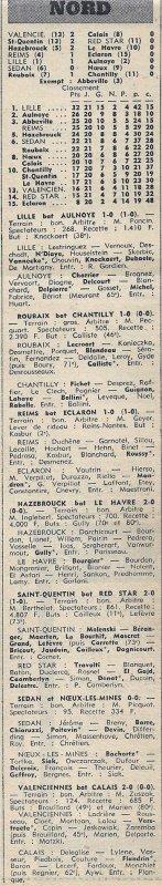 1971 D3 J22 REIMS ECLARON 1-0, le 27/02/1972