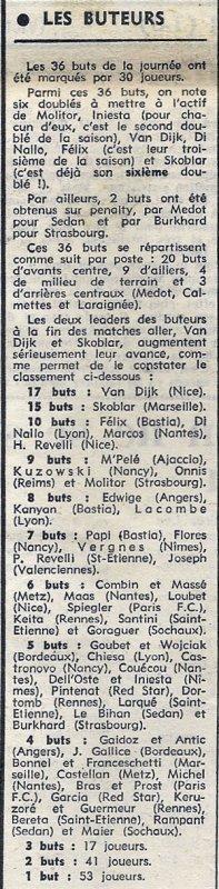1972 D1 J20 NICE REIMS 2-2, le 07/01/1973