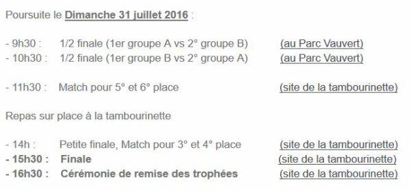 2016 AMICAL : Tournoi Paul NICOLAS , REIMS B, le 26/07/2016
