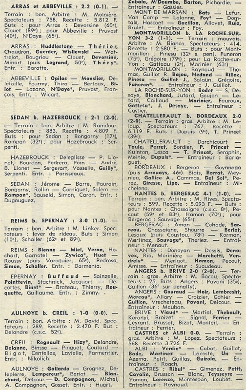 1972 D3 J20 REIMS EPERNAY 3-0, le 25/02/1973