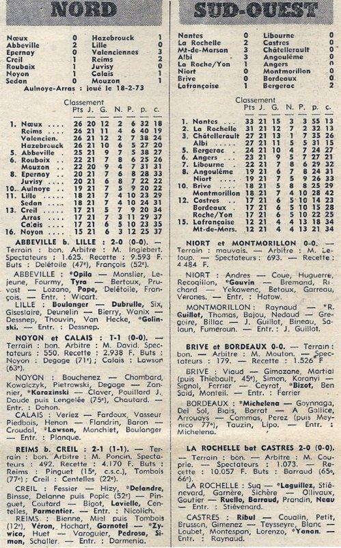 1972 D3 J21 CREIL REIMS 1-2, le 04/03/1973