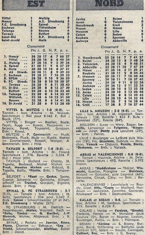 1972 D3 J28 JUVISY REIMS 1-1, le 06/05/1973