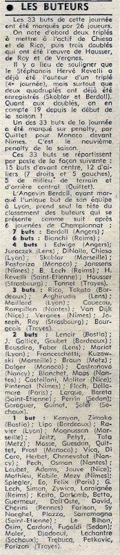 1973 D1 J06 STRASBOURG REIMS 4-1, le 01/09/1973