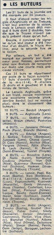 1973 D1 J10 SOCHAUX REIMS 1-2, le 06/10/1973