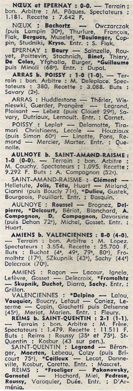 1973 D3 J04 SAINT QUENTIN REIMS 1-2, le 16/09/1973